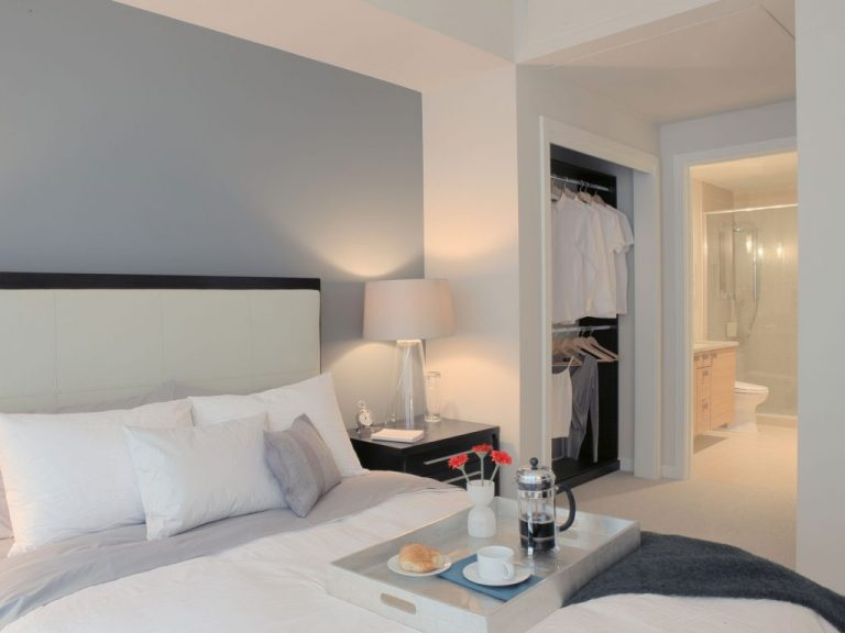 Keep lighting dim in the bedroom, it's a sanctuary after all. Picture: Getty Images