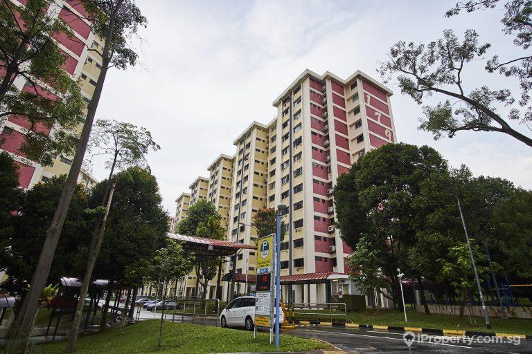 HDB in Ang Mo Kio Avenue 5