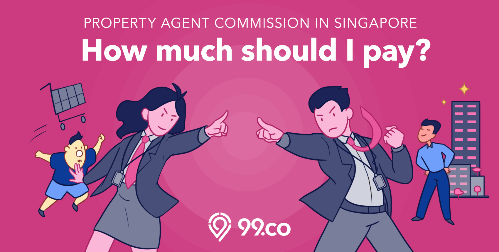 Property agent commission in Singapore: How much should I pay?
