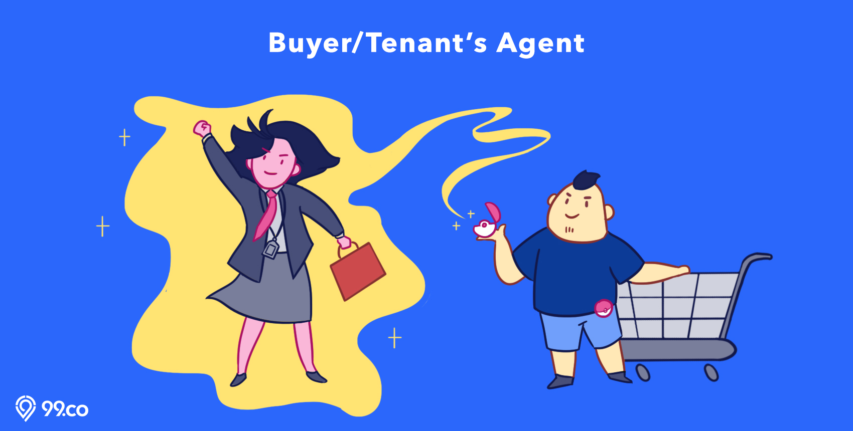 Buyer tenant property agent