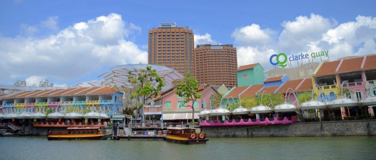 The vibrant entertainment enclave of Clarke Quay in Singapore. Photo: Khalil Adis Consultancy.