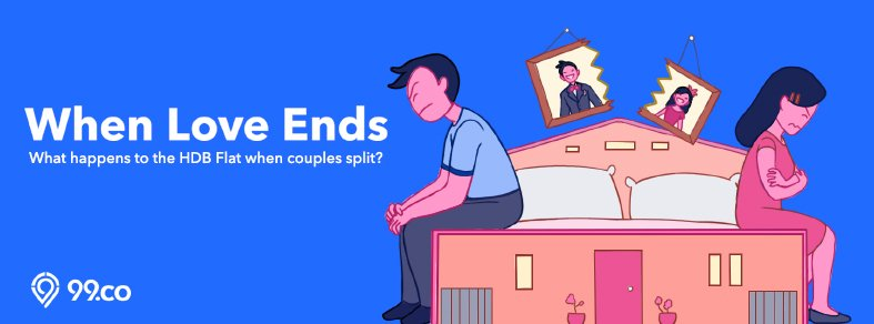 When love ends: What happens to the HDB flat when couples split?