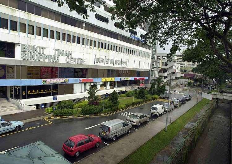 BT shopping centre srx