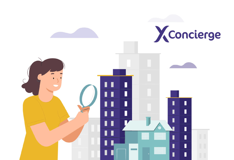 SRX Concierge searching