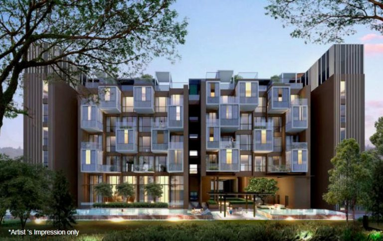 Artist impression of The Siena condo