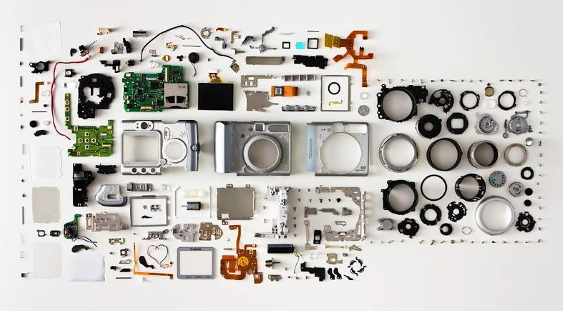 A camera is a complicated system – its components interact with one another in predictable and consistent ways.