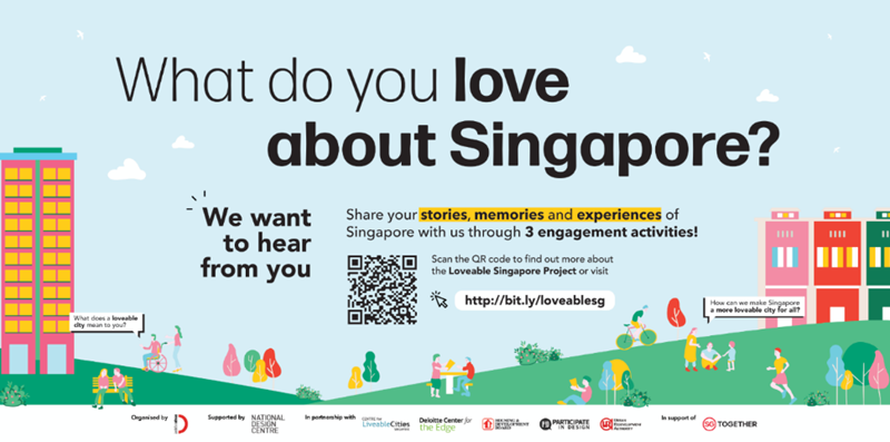 Loveable Singapore Project banner